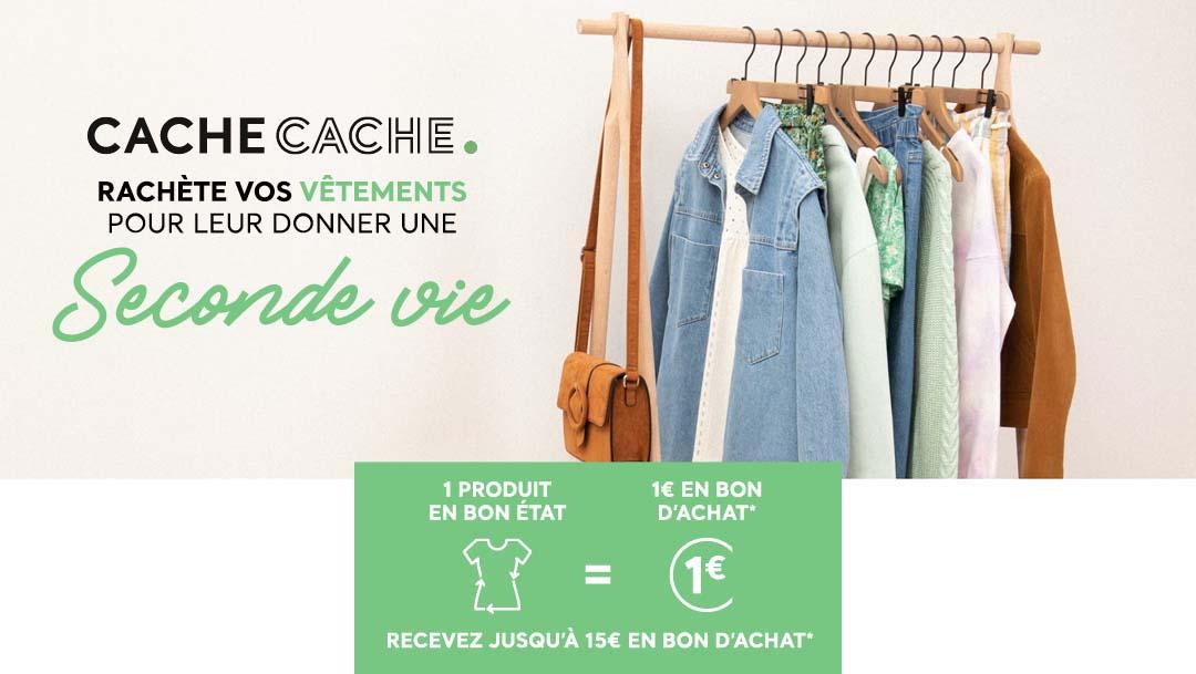 Collecte de vêtements chez Cache-Cache !