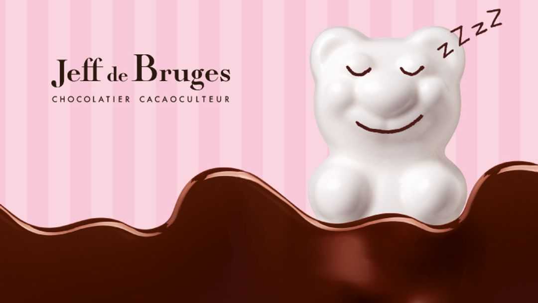 JEFF DE BRUGES - 3 ours guimauve à partir de 25 € d'achat