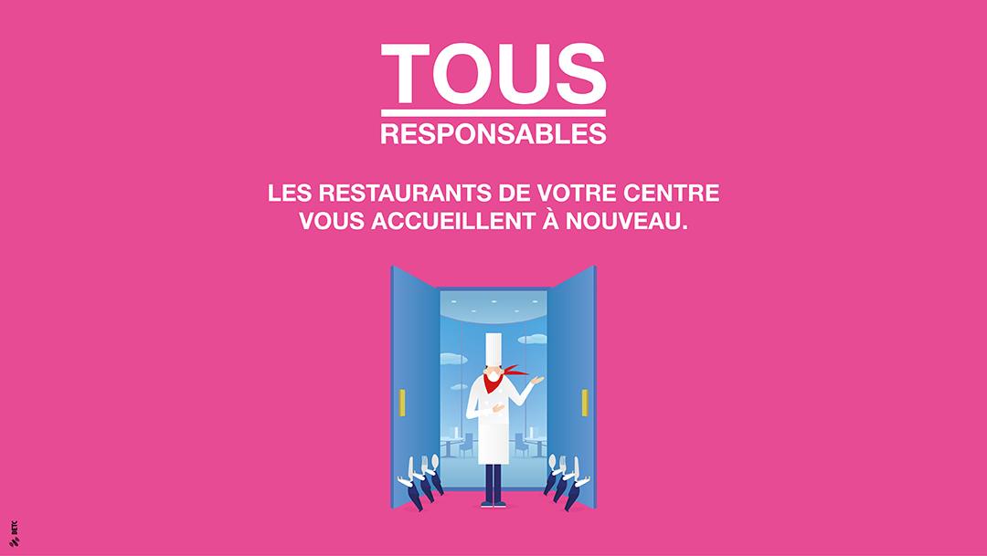 REOUVERTURE DE NOS RESTAURANTS
