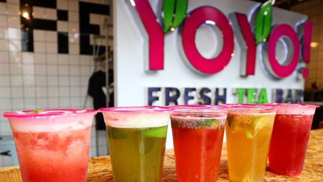 Rachel Hazes opent YOYO Fresh Tea in Stadshart Amstelveen