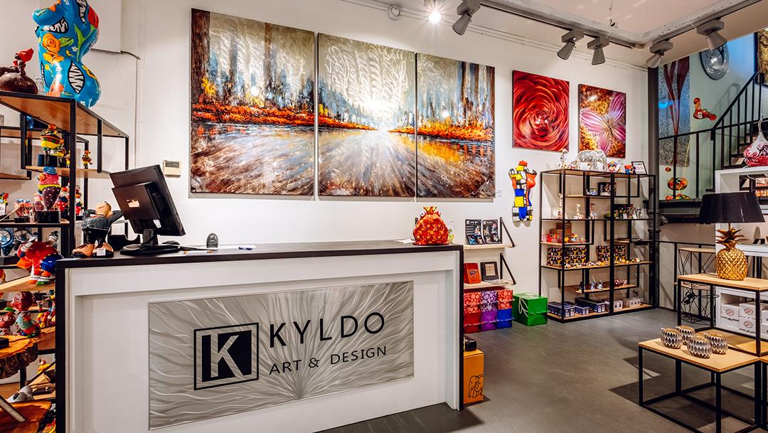 Kunst en kadowinkel Kyldo opent eerste flagship store!