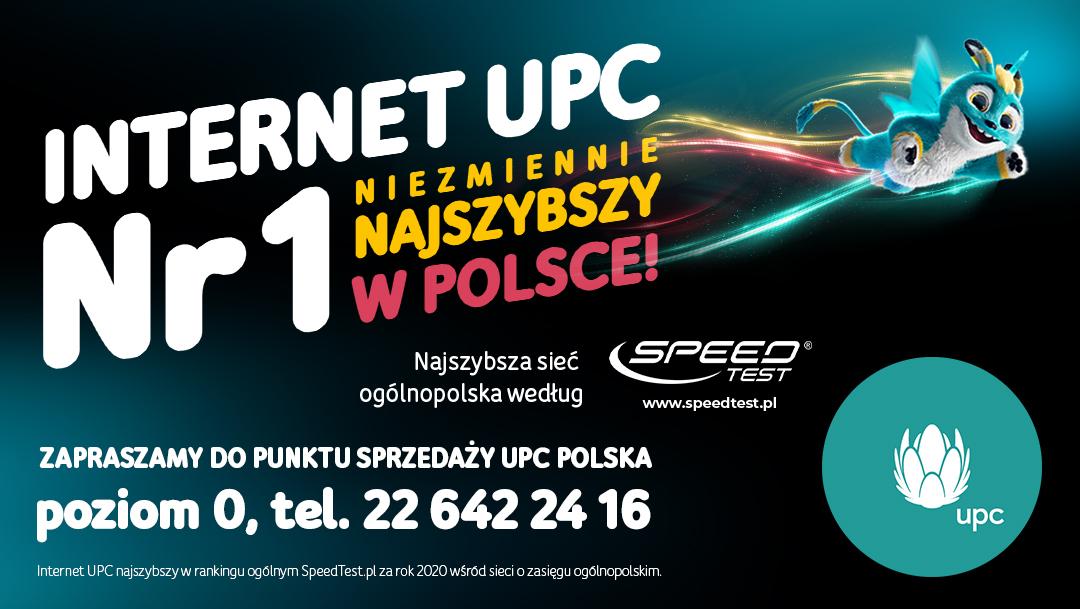 Zamów internet nr 1 od UPC Polska