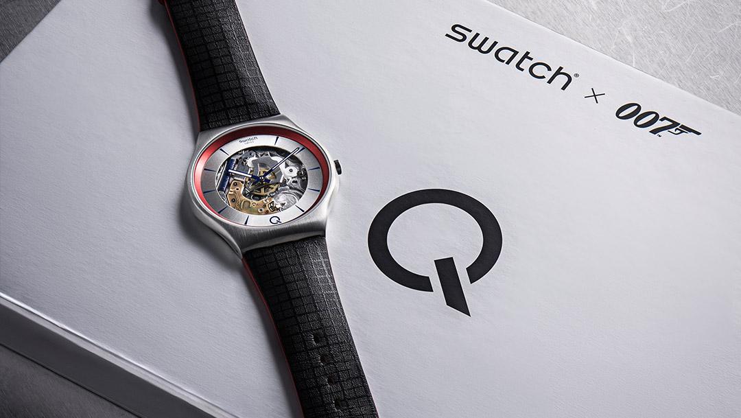 Czas na prezentację ²Q - Swatch kontynuuje tajną misję