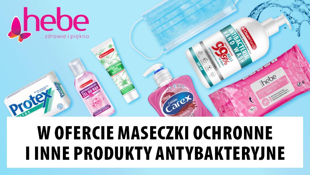 Oferta produktów antybakteryjnych w Hebe