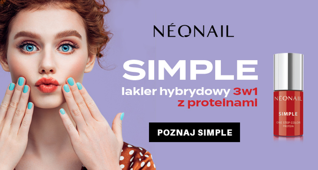 Nowość od NEONAIL! SIMPLE One Step Color Protein 3w1.