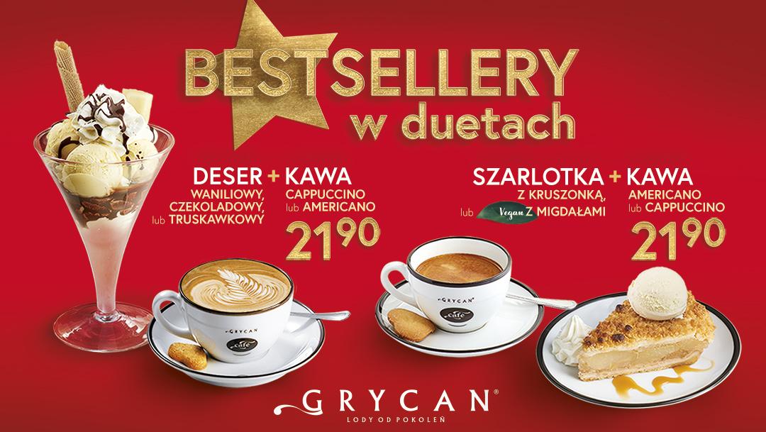 Bestsellery w duetach u Grycana