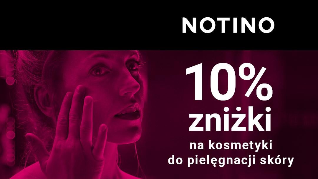 10% zniżki na kosmetyki do pielęgnacji skóry