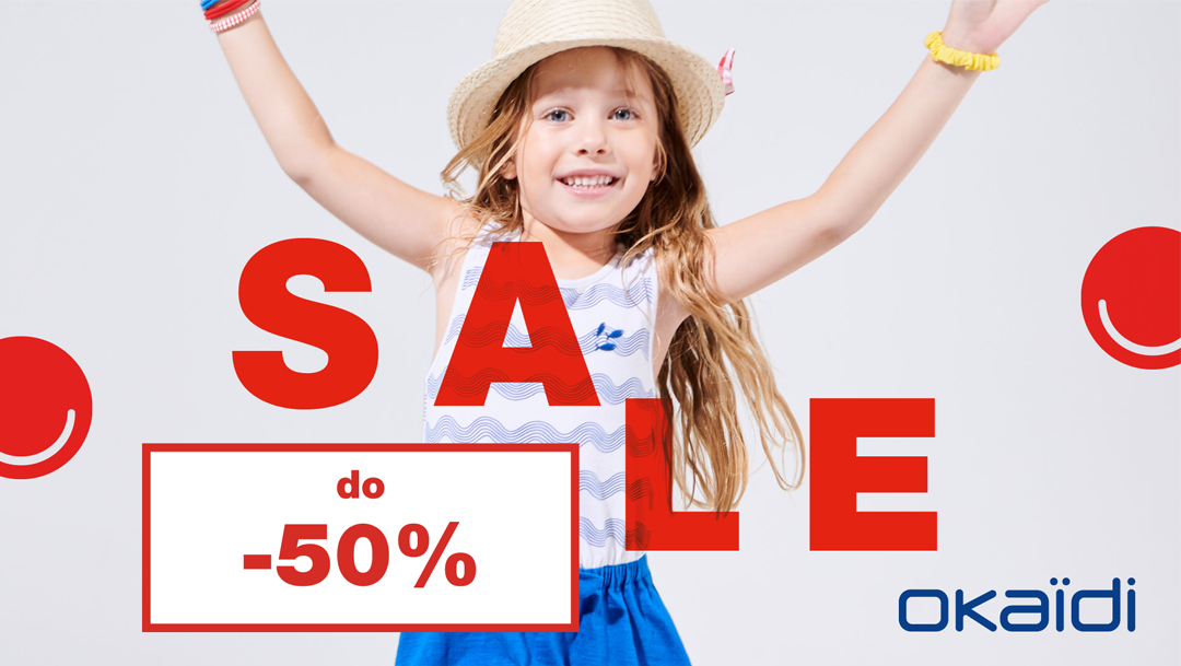 Wyprzedaż w OKAIDI do -50%!
