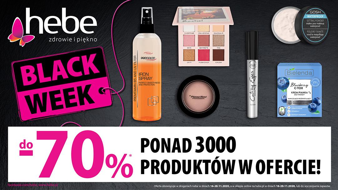 BLACK WEEK W HEBE DO -70%