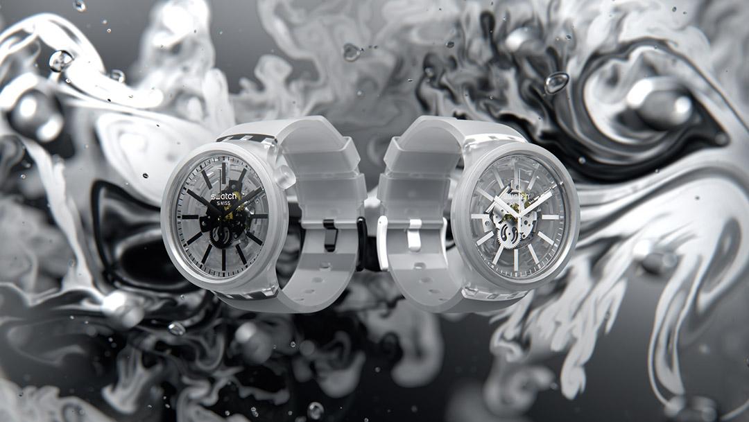 Nowe modele BIG BOLD JELLY w salonie Swatch