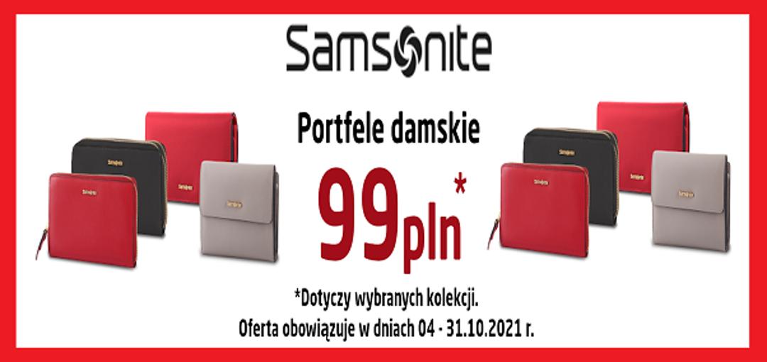 Portfele Damskie w cenie 99 zł