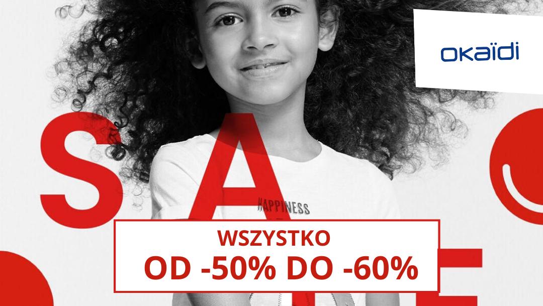WSZYSTKO OD 50% DO -60% W OKAIDI