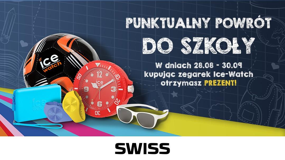 Punktualny powrót do szkoły z zegarkiem SWISS