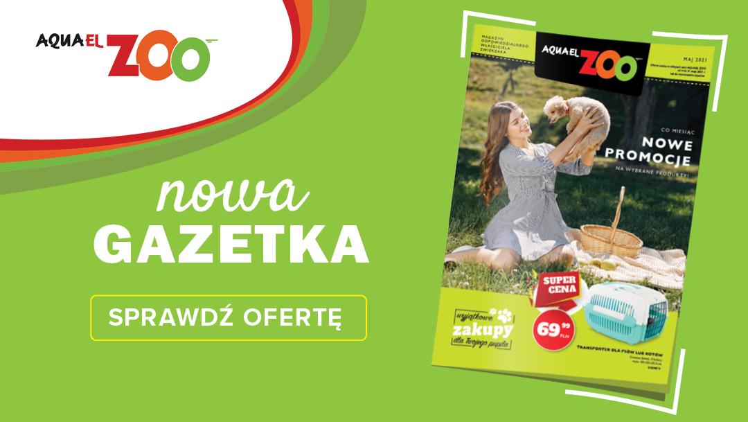 Aquael Zoo Gazetka MAJ