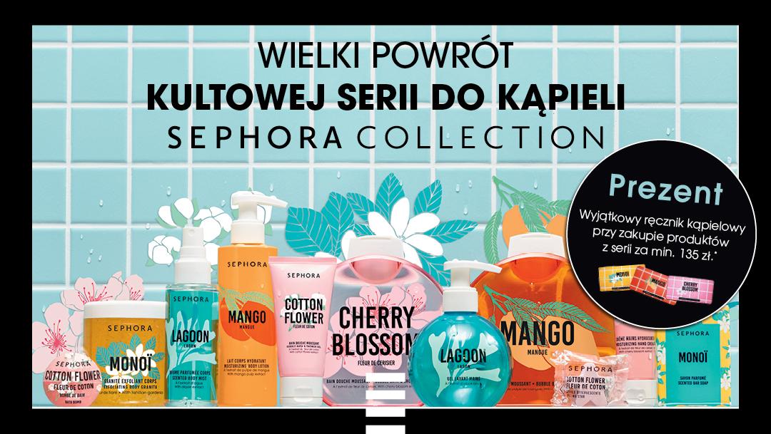 Kultowa kolekcja produktów do kąpieli marki Sephora Collection wróciła