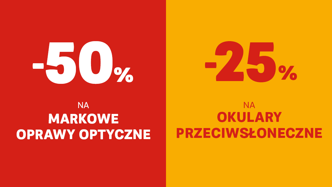 RABATY DO -50% W LYNX OPTIQUE