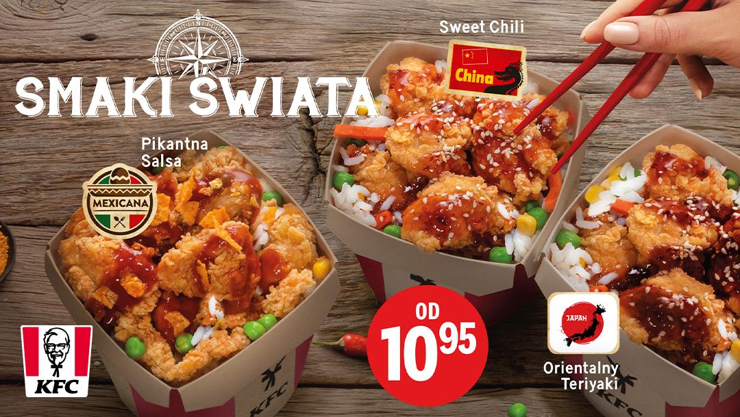 Smaki Świata w KFC