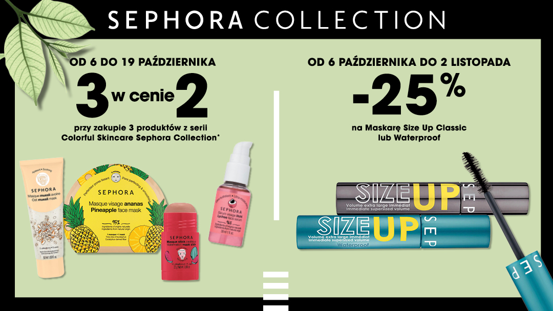 Odkryj aktualne oferty marki Sephora Collection