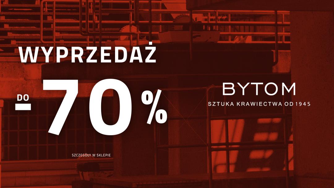 Wyprzedaż do -70% w salonie Bytom