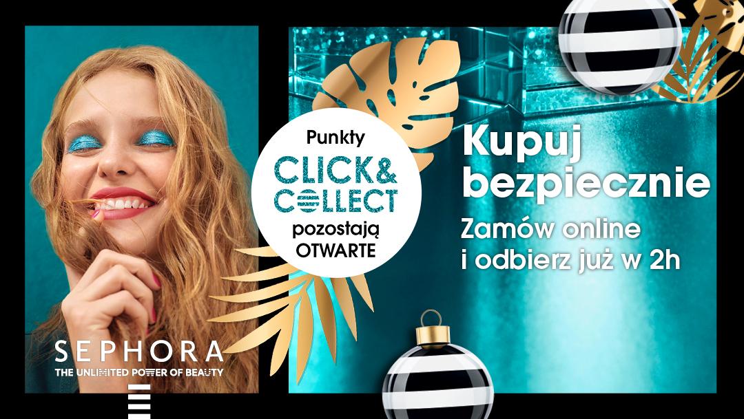 Usługa CLICK&COLLECT w Sephora