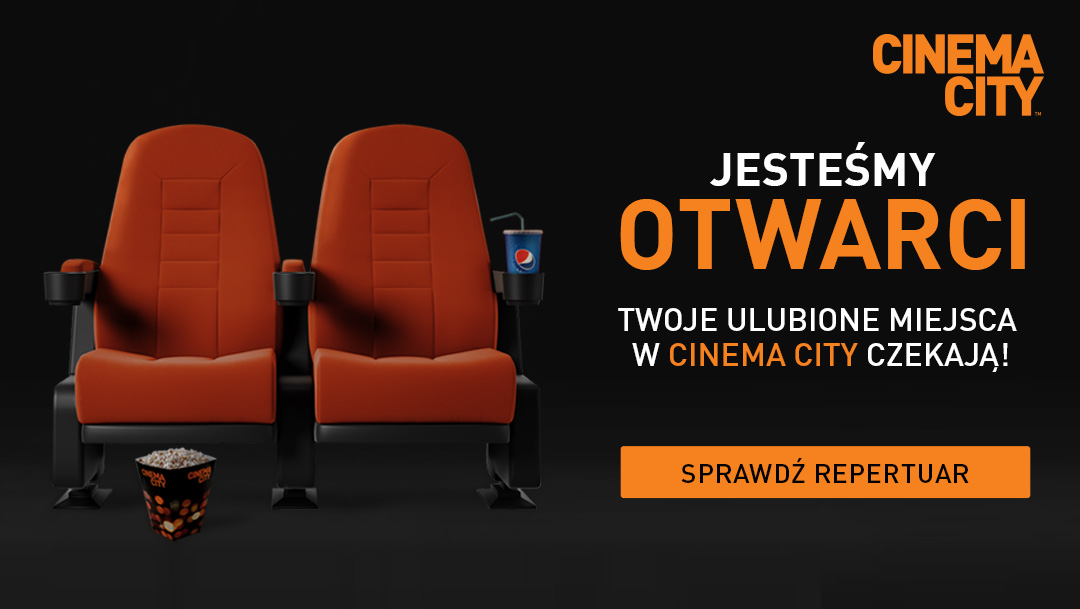 Kino Cinema City w Galerii Mokotów jest otwarte dla Widzów!