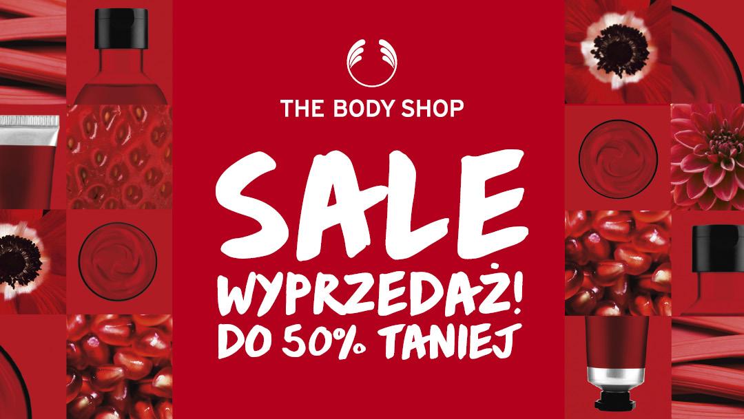 Wyprzedaż w The Body Shop