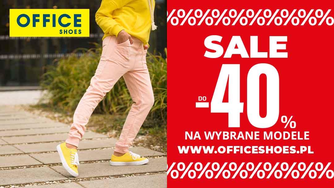 SALE do -40% w Office Shoes
