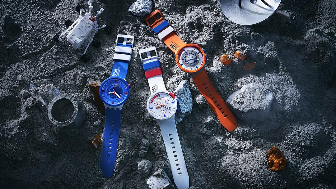Swatch sięga gwiazd wraz z nową kolekcją Space