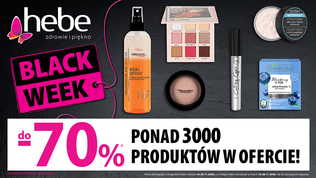 BLACK WEEK W HEBE DO -70%