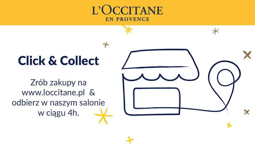 Usługa Click&Collect w L'Occitane