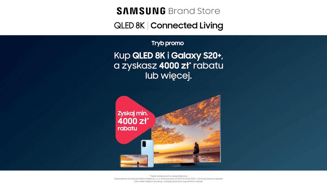 Promocyjne zestawy w Samsung Brand Store