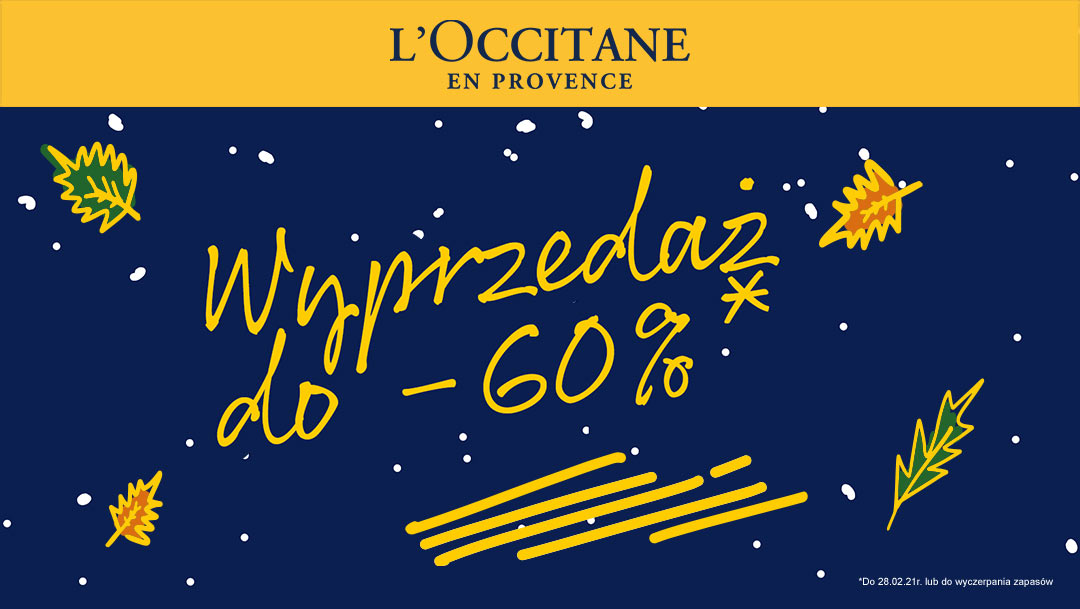 Wyprzedaż w salonie L'occitane