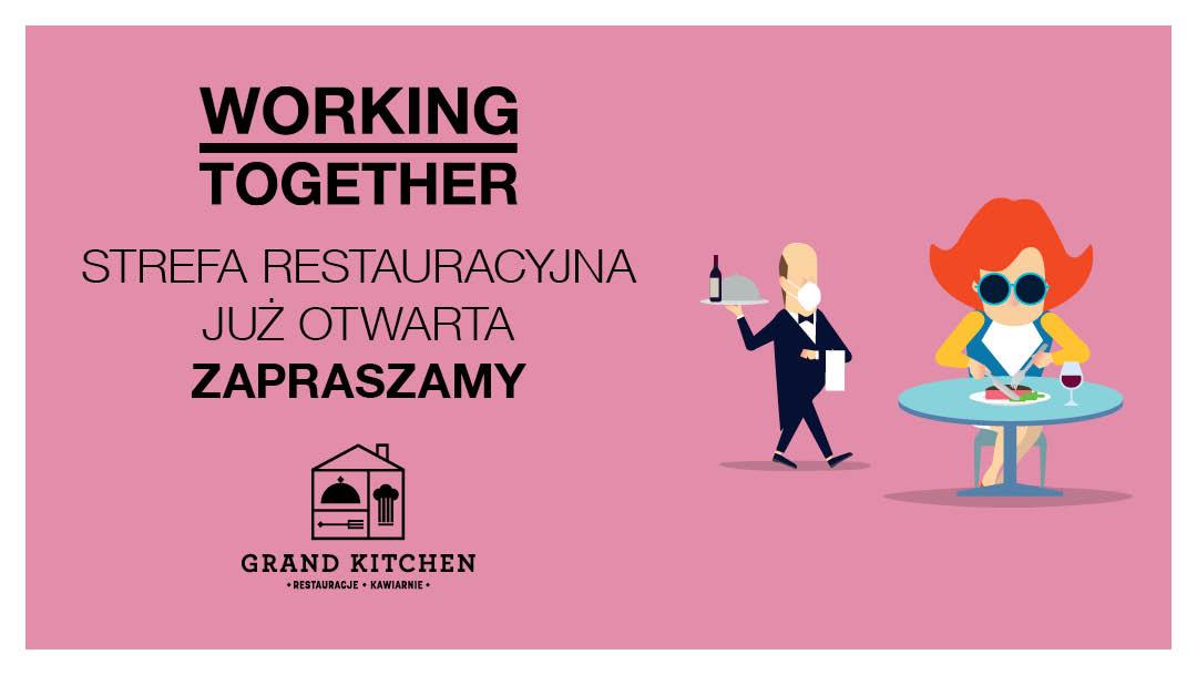 Ponowne otwarcie strefy restauracyjnej we Wroclavii