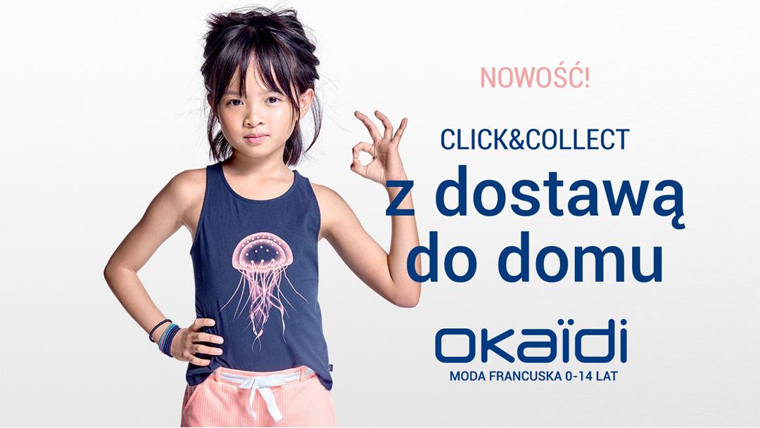 Usługa CLICK&COLLECT z DOSTAWĄ DO DOMU w OKAIDI