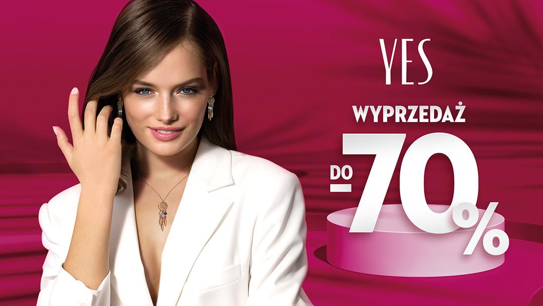 Wyprzedaż do -70% w Salonie YES