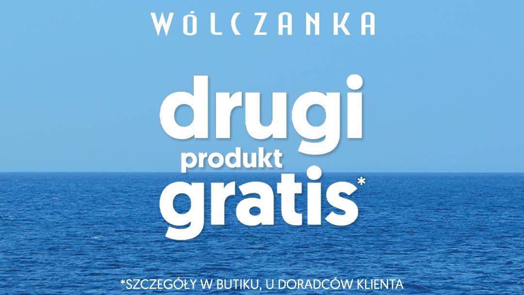 Drugi produkt GRATIS w butiku WÓLCZANKA