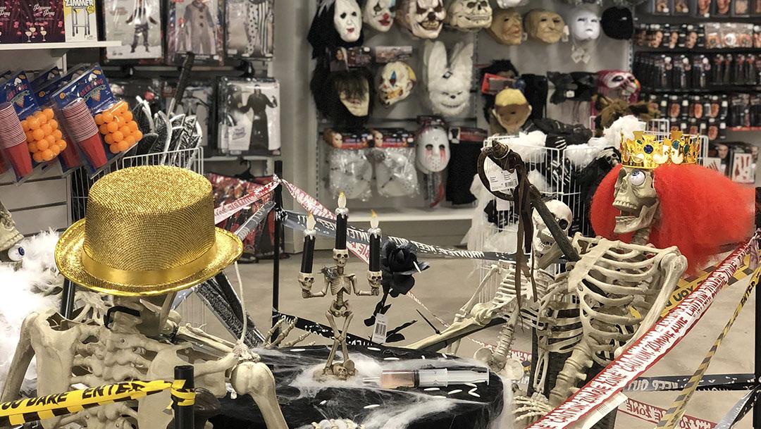 Kalaskompaniet öppnar Halloween Pop-up