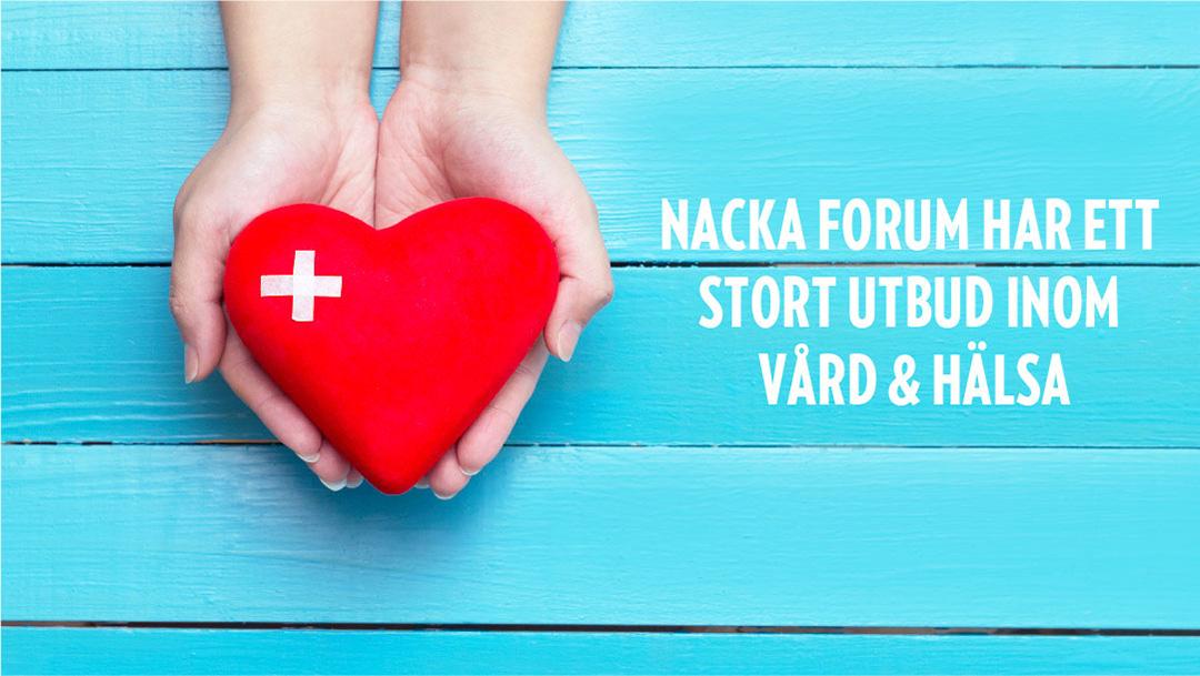 Vård och hälsa i Nacka Forum