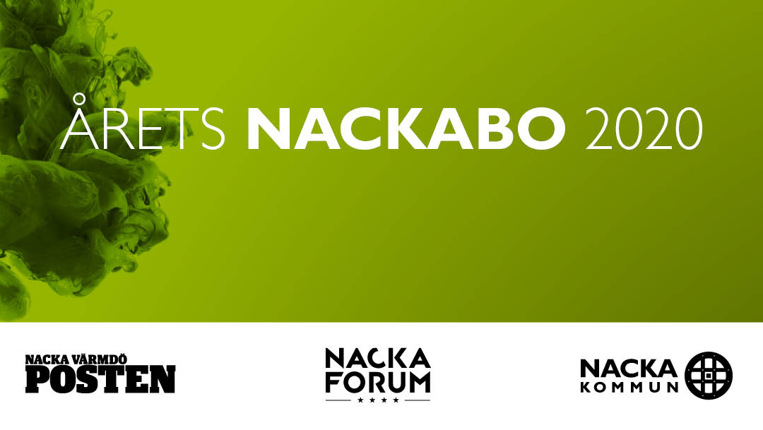 Nominera din favorit till årets Nackabo 2020