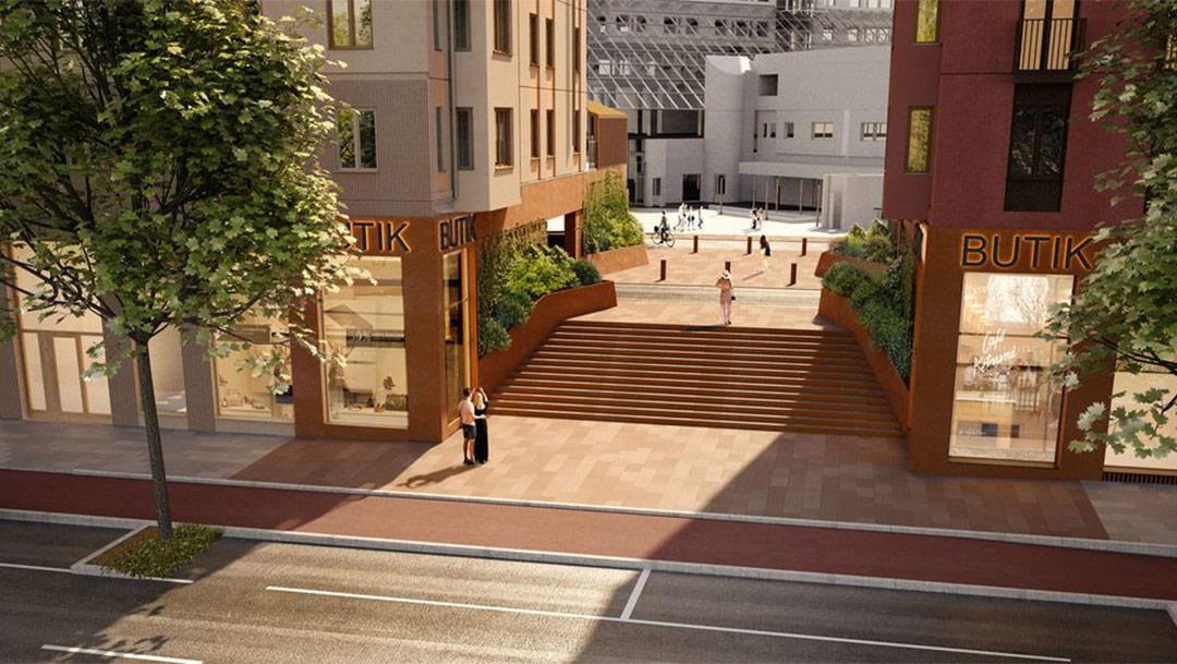 Solnavägen utvecklas till levande stadsgata – nu börjar nästa etapp