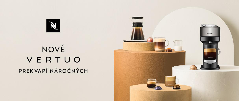 VERTUO – Exkluzívna novinka od Nespresso