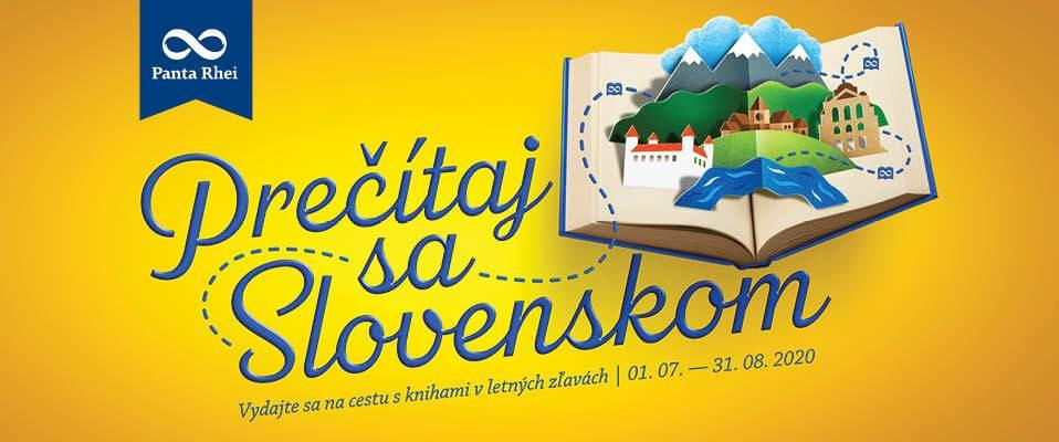Vydajte sa na cestu po Slovensku s knihami v letných zľavách.