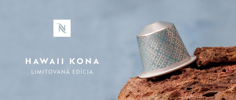 Nová limitovaná edícia Nespresso Hawaii Kona