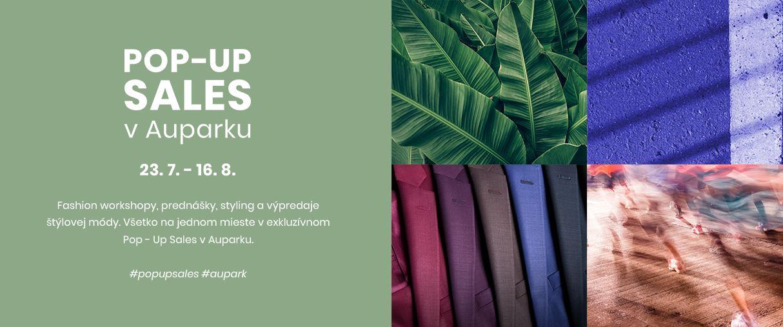 Aupark otvára unikátny koncept POP-UP SALES. Prinesie kúsky obľúbených značiek v atraktívnych zľavách aj rozmer udržateľnosti