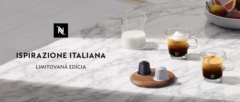 Nová limitovaná edícia káv Ispirazione Italiana