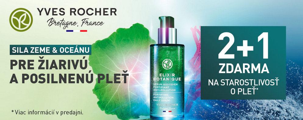 Novinka od Yves Rocher-  Elixir Botanique