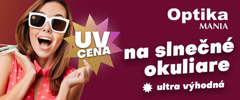 UV cena na slnečné okuliare