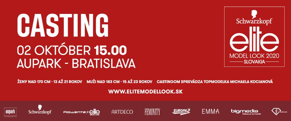 Agentúra Elite Bratislava vyhlasuje castingy do najprestížnejšej modelingovej súťaže Schwarzkopf Elite Model Look SR 2020