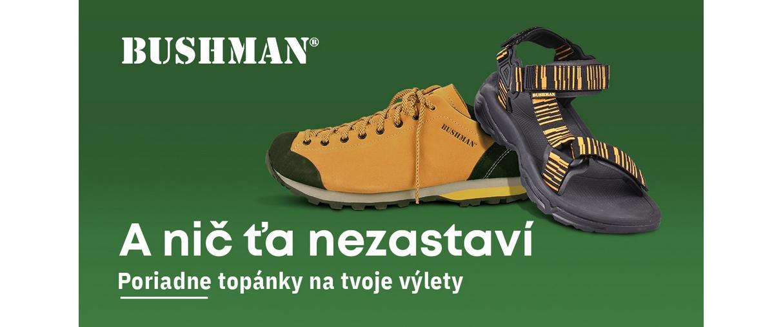 BUSHMAN obuv do každého terénu 👟🌲☀️