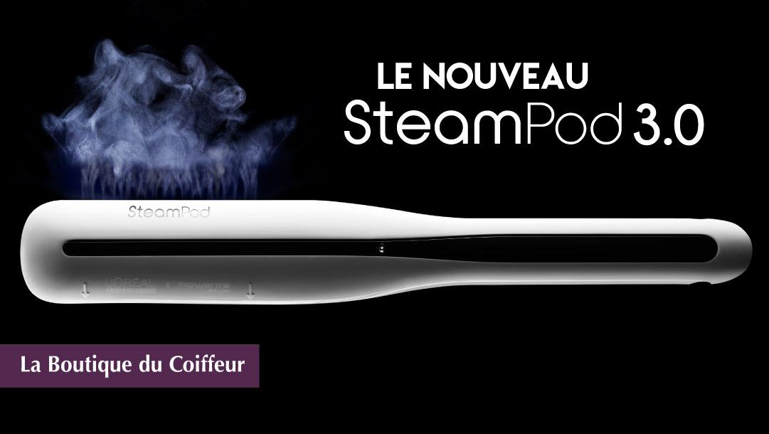 Le nouveau Steampod est arrivé !